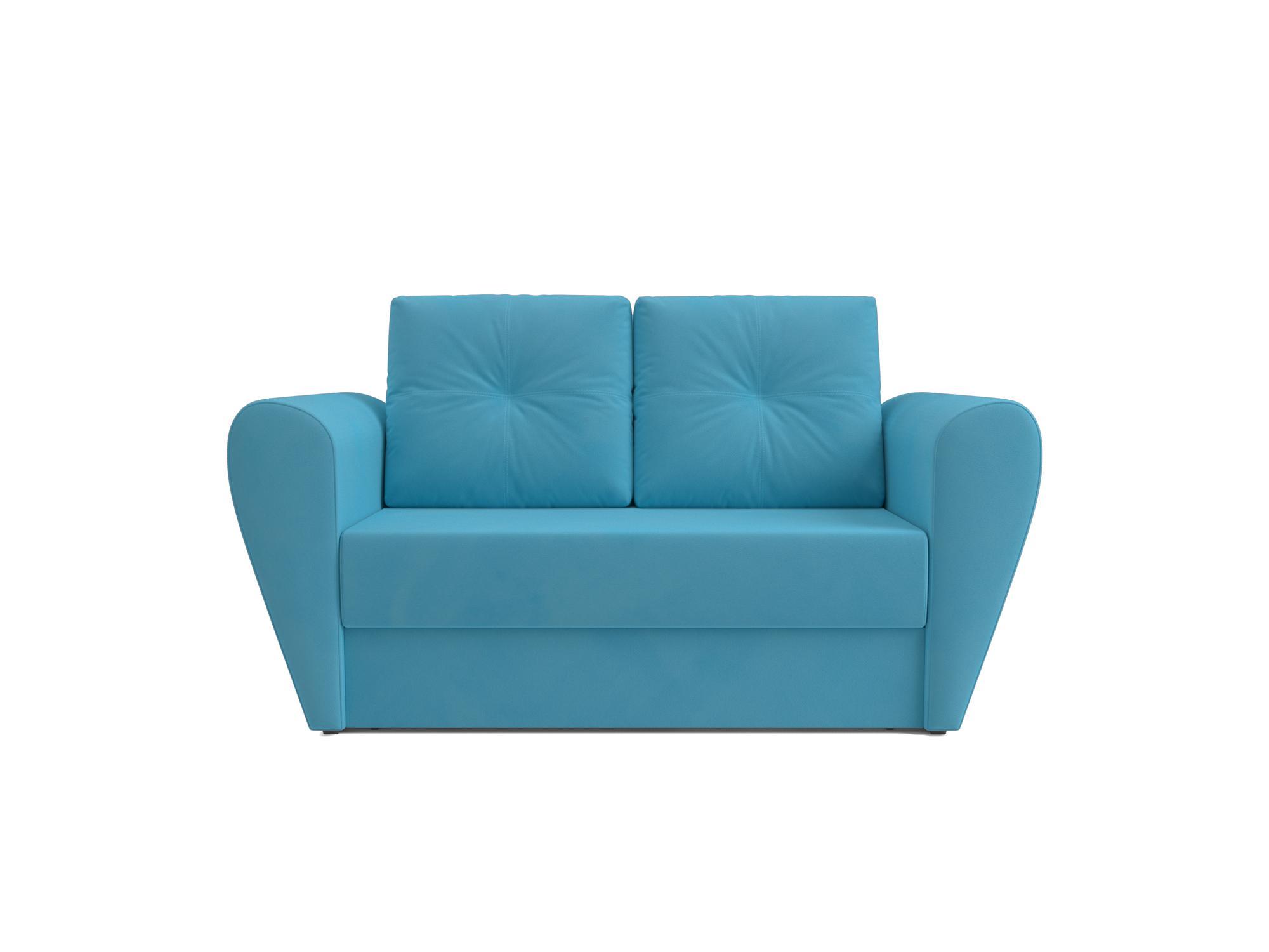 Фото - Диван Квартет MebelVia Синий, Рогожка, Брус сосны диван шерлок ст евро mebelvia синий рогожка брус хвойных пород
