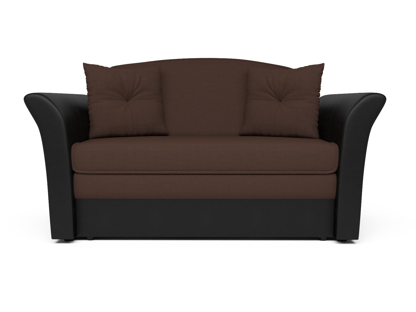 Фото - Диван Малютка 2 MebelVia Коричневый, Рогожка, Брус сосны диван малютка 2 mebelvia коричневый рогожка брус сосны