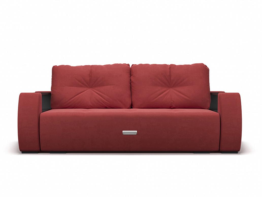 Фото - Диван Мальтида MebelVia Красный, Микровелюр, Брус сосны диван мальтида mebelvia серый велюр брус сосны