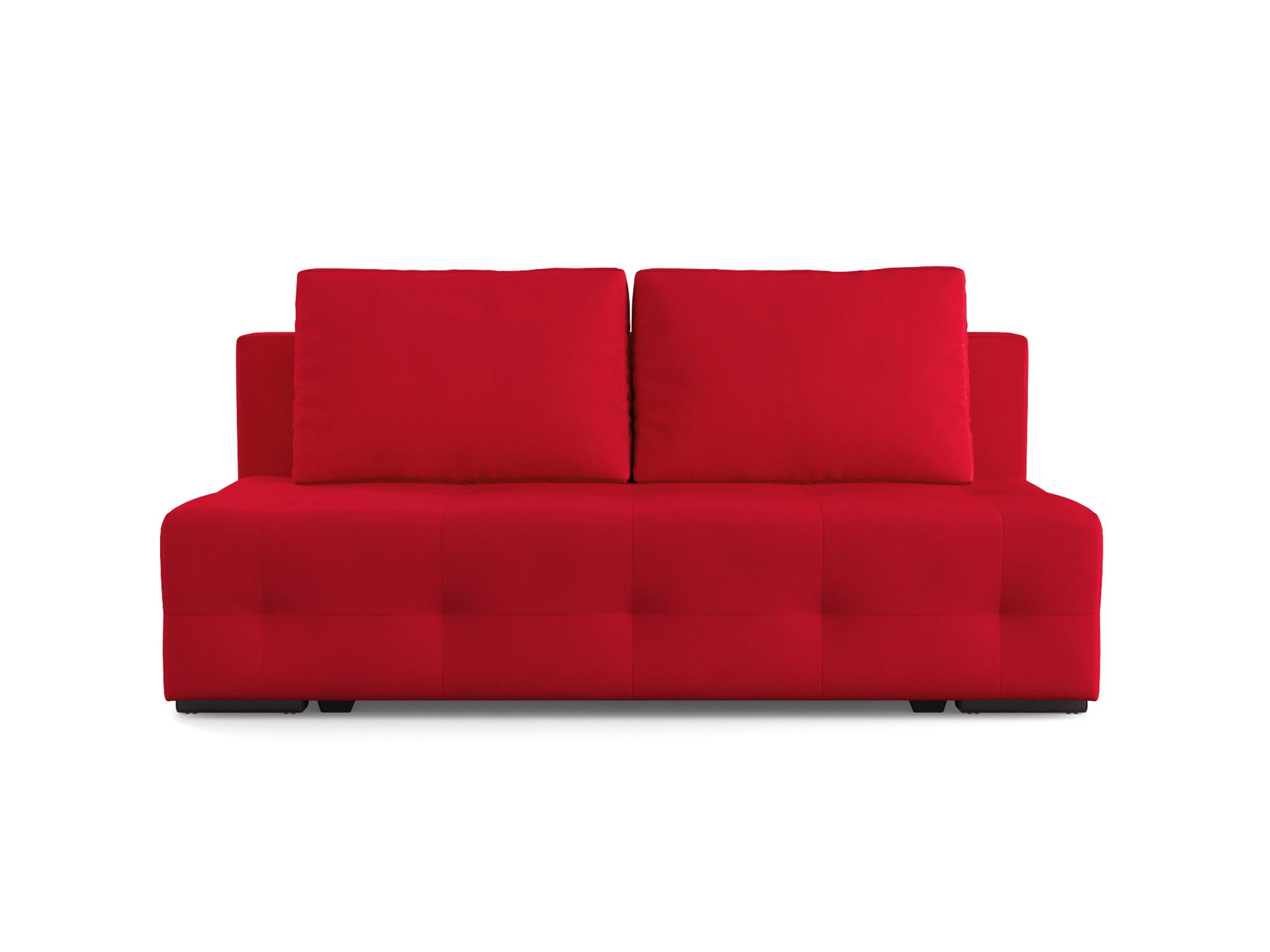 Фото - Диван Марсель 1 MebelVia Красный, Микровелюр, Брус сосны диван мальтида mebelvia красный микровелюр брус сосны