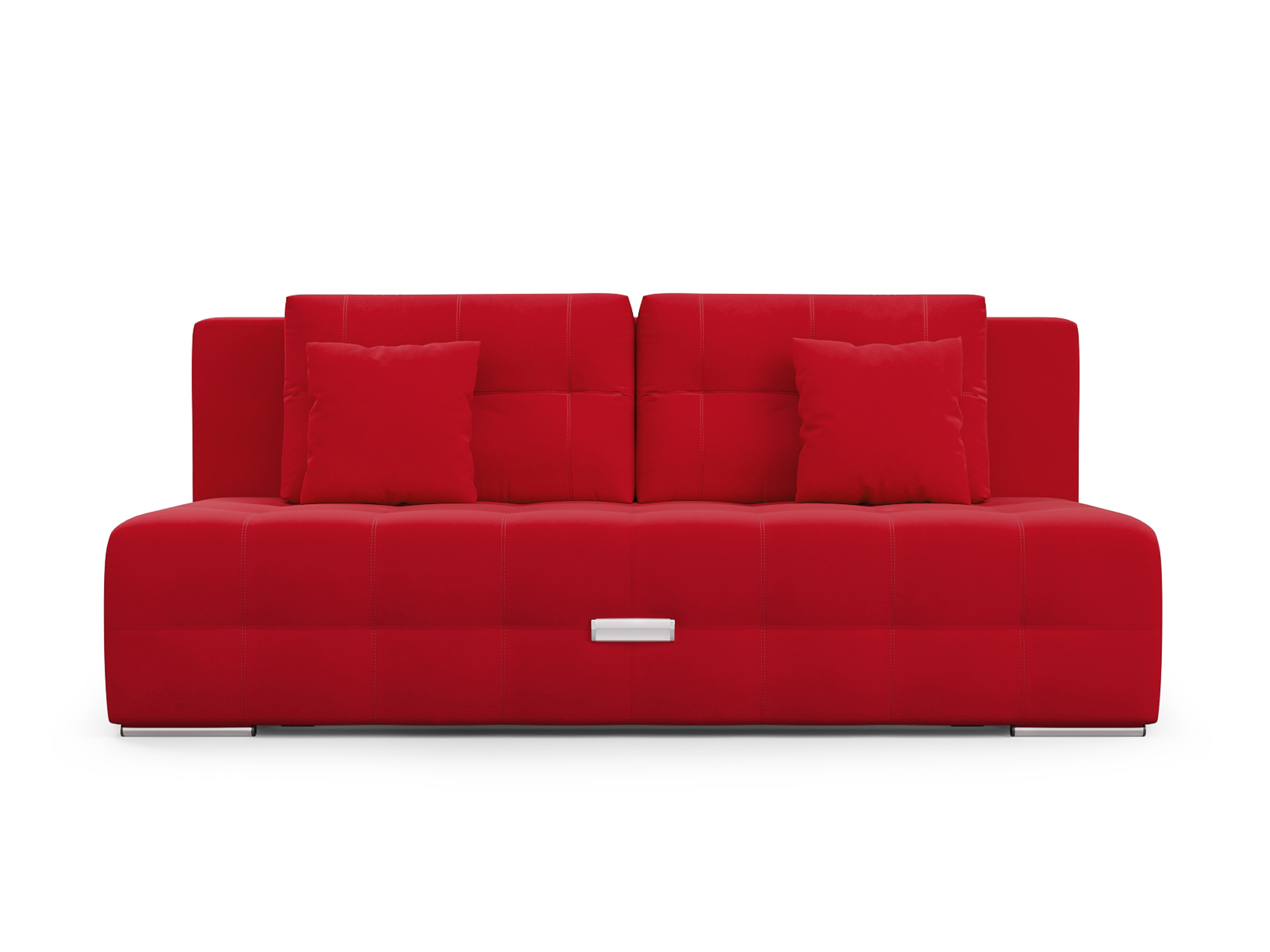 Фото - Диван Марсель MebelVia Красный, Микровелюр, Брус сосны диван мальтида mebelvia красный микровелюр брус сосны