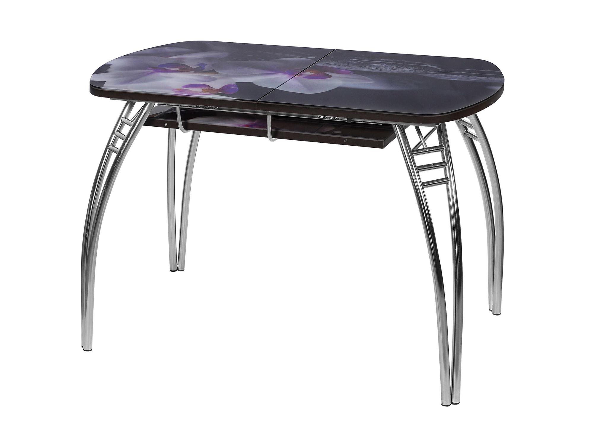 Стол раздвижной Паук Серый, Сталь хромированная стол раздвижной паук