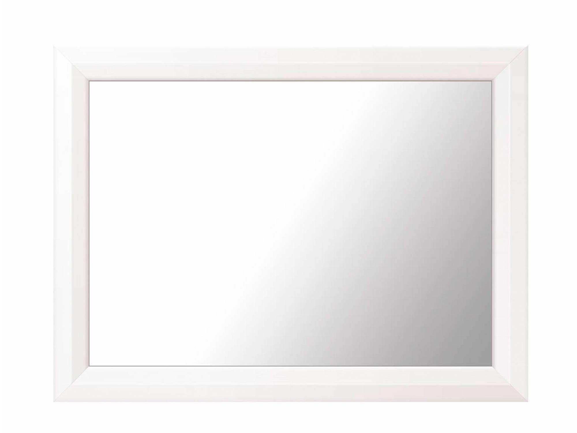Зеркало Мальта Белый, МДФ, Зеркало