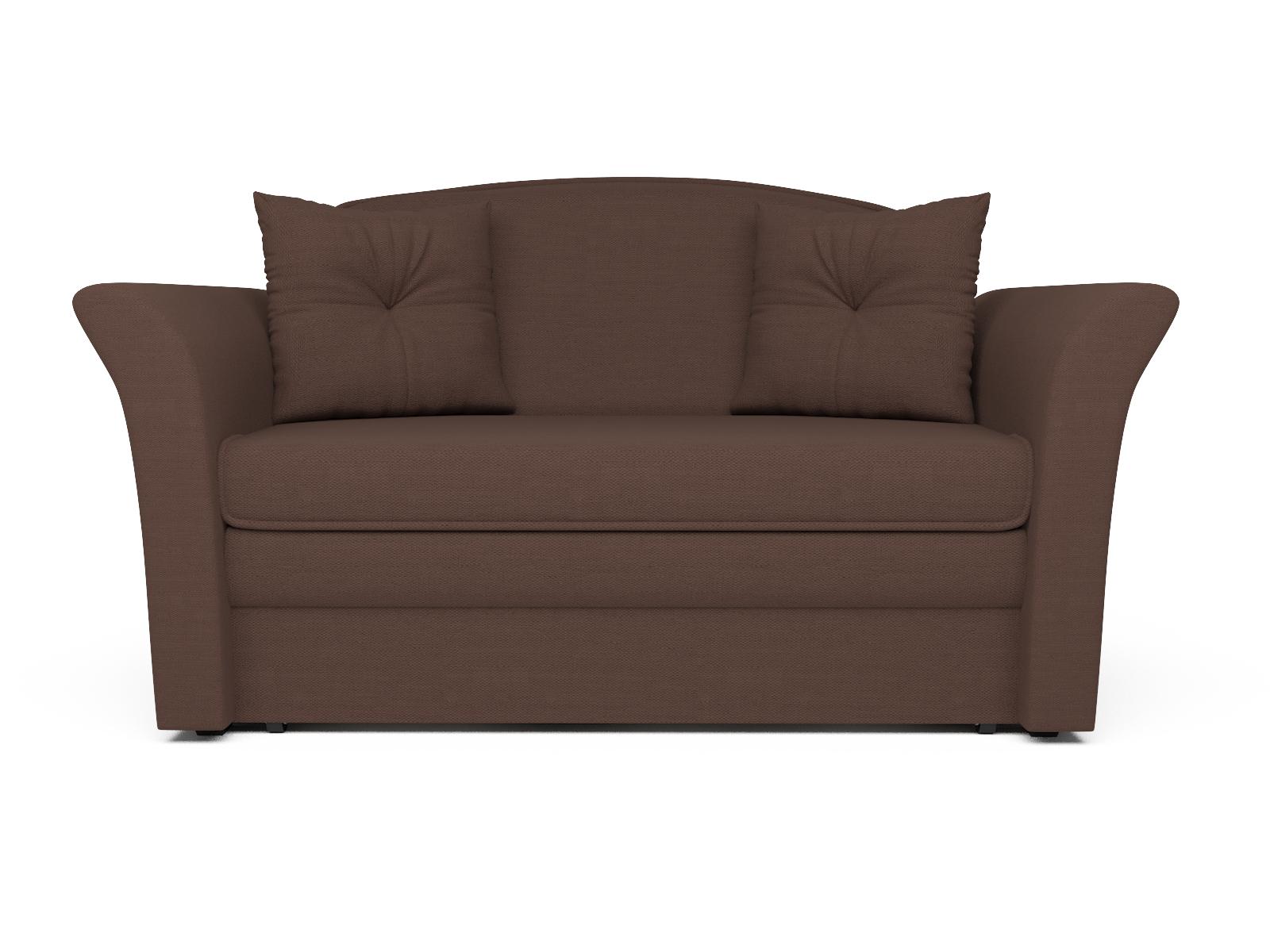 Фото - Диван Малютка 2 MebelVia , Коричневый, Рогожка, Брус сосны диван малютка 2 mebelvia коричневый рогожка брус сосны