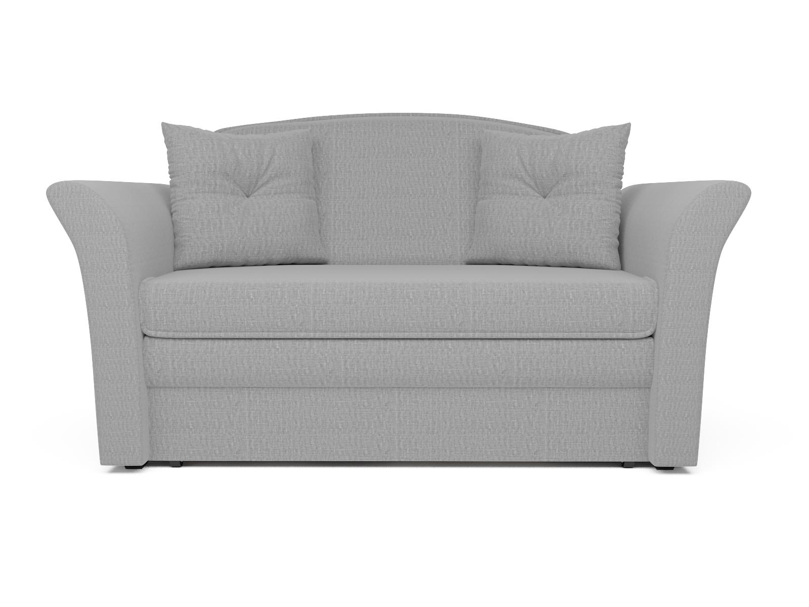 Фото - Диван Малютка 2 MebelVia , Серый, Рогожка, Брус сосны диван малютка 2 mebelvia коричневый рогожка брус сосны