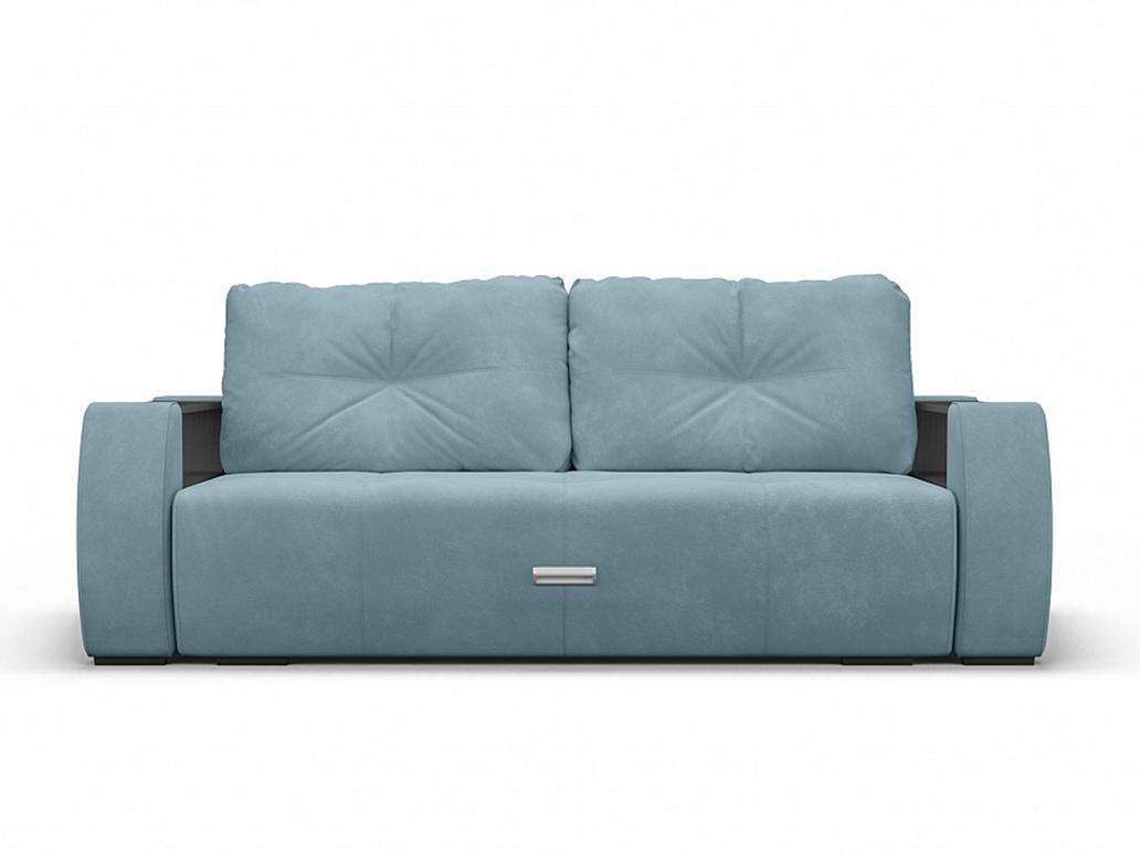Фото - Диван Мальтида MebelVia Голубой, Велюр, Брус сосны диван мальтида mebelvia серый велюр брус сосны