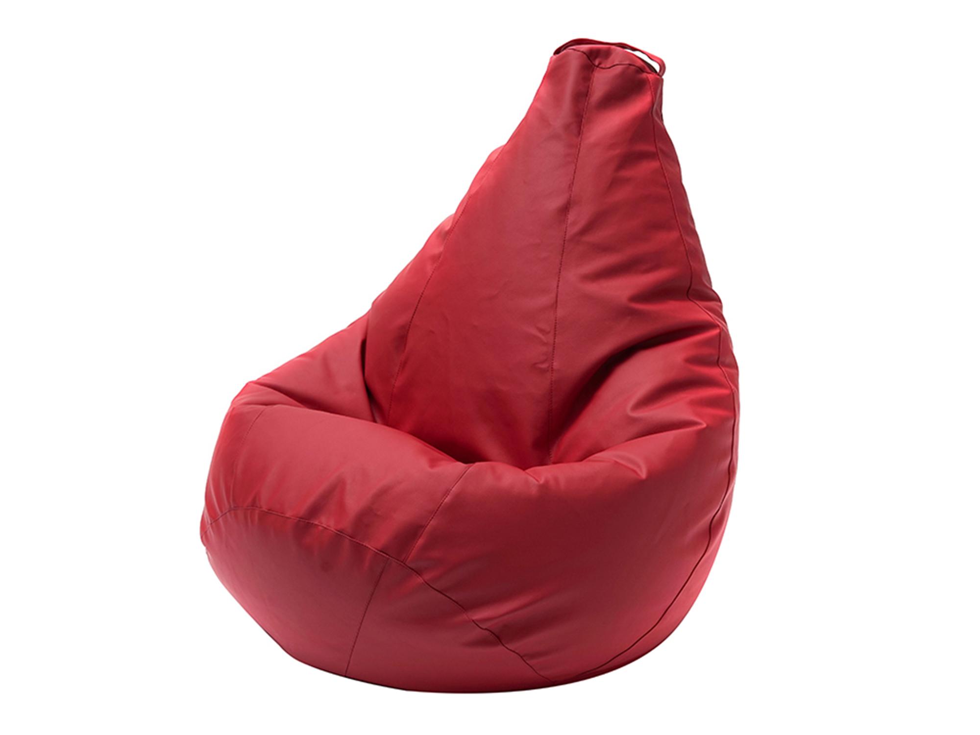 Кресло Мешок XL 125х85 MebelVia , Красный, Экокожа кресло мешок флаги xl 125х85 mebelvia