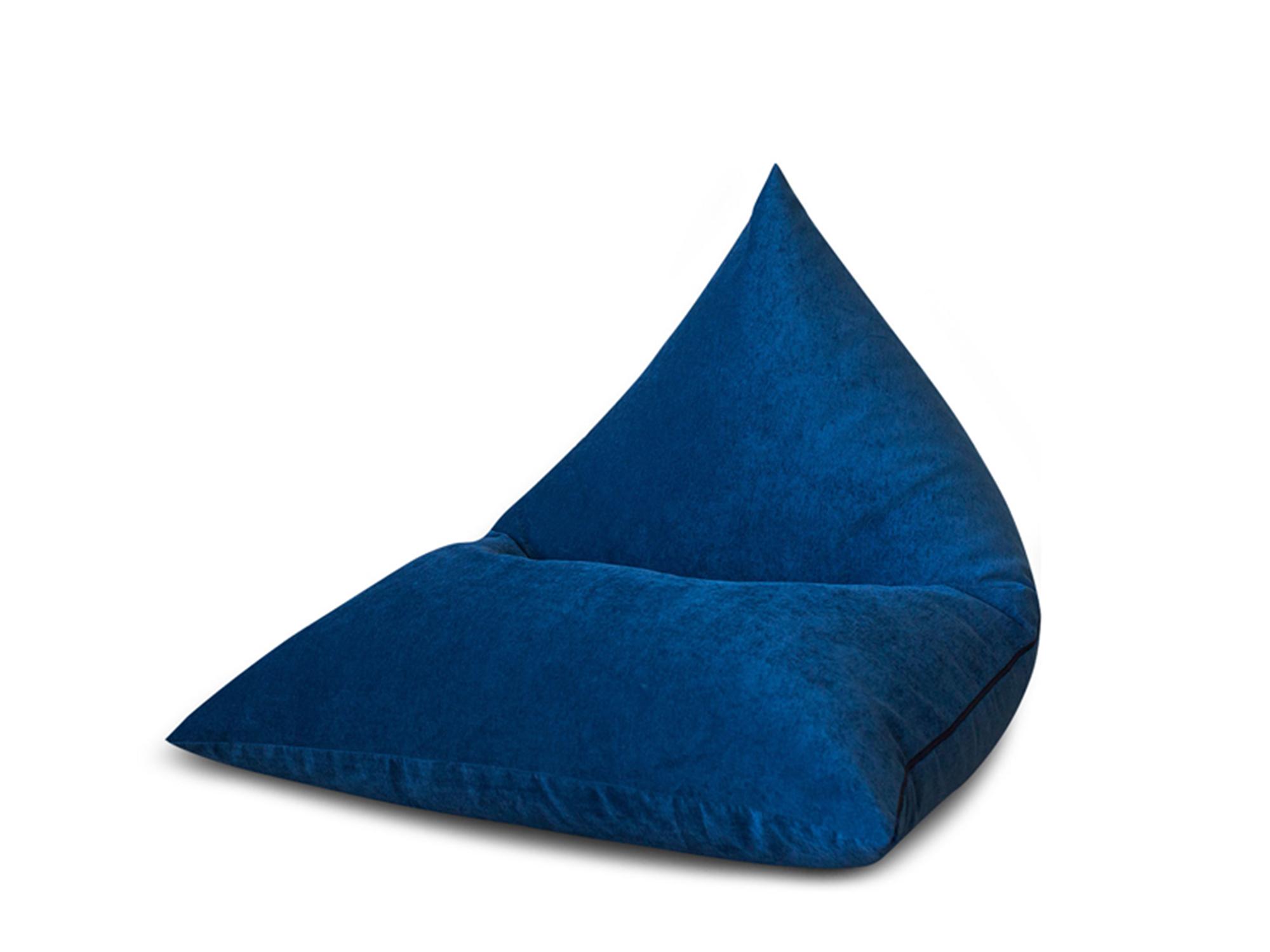 Кресло Пирамида MebelVia , Синий, Микровельвет