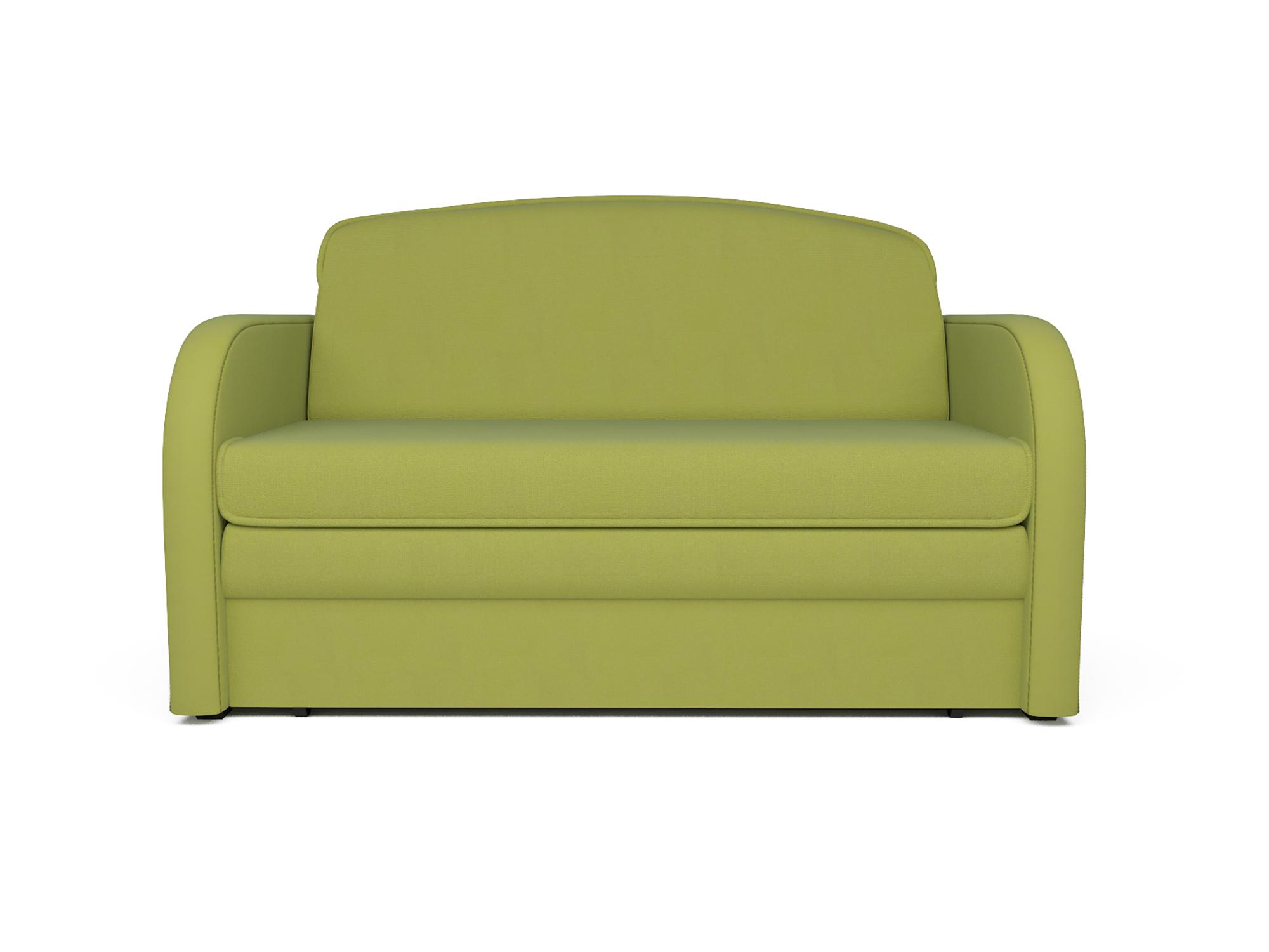 Фото - Диван Малютка Кармен MebelVia Зеленый, Рогожка, Брус сосны диван малютка 2 mebelvia коричневый рогожка брус сосны