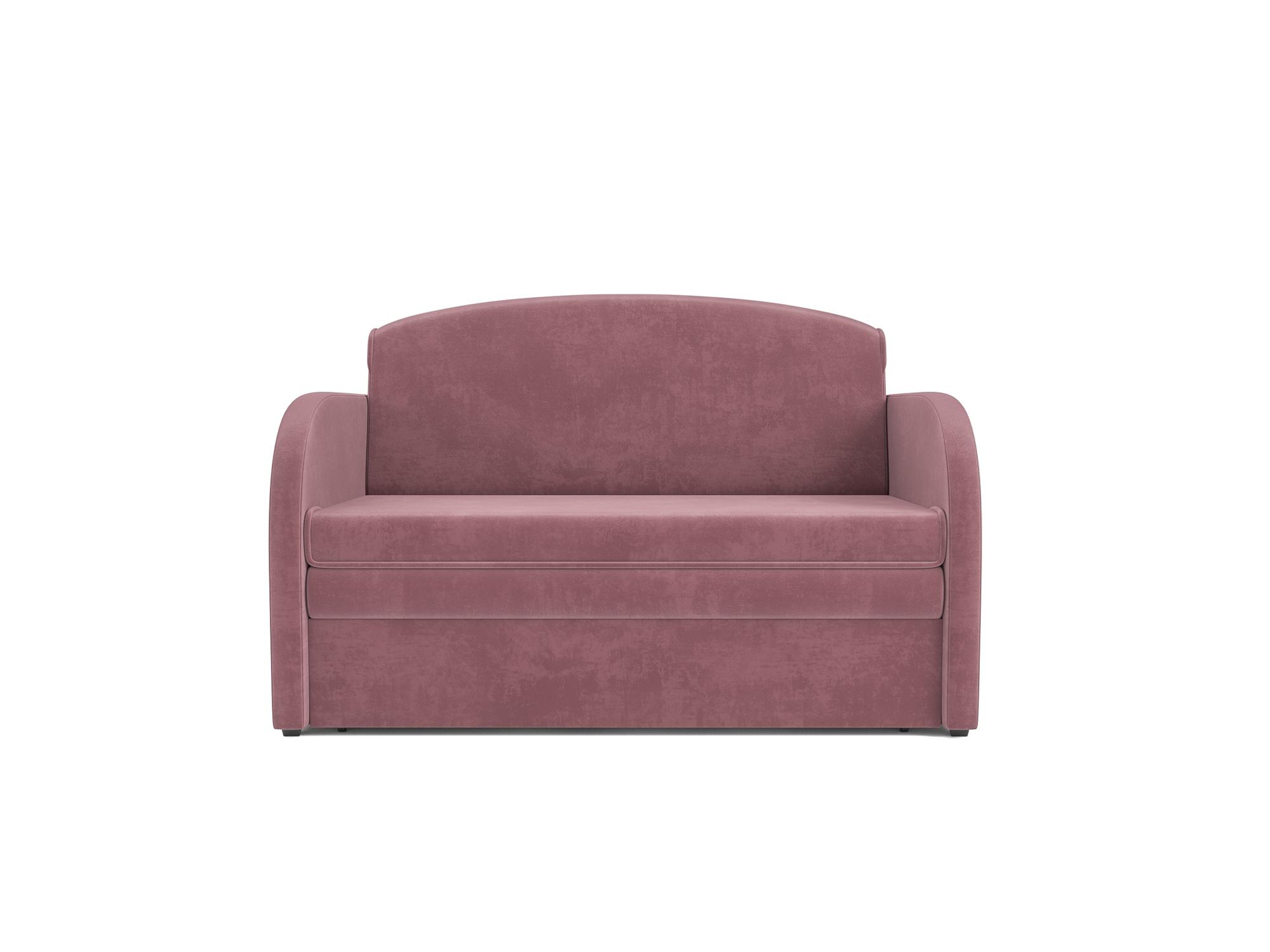 Фото - Диван Малютка MebelVia Розовый, Велюр, Брус сосны диван малютка 2 mebelvia синий велюр брус сосны