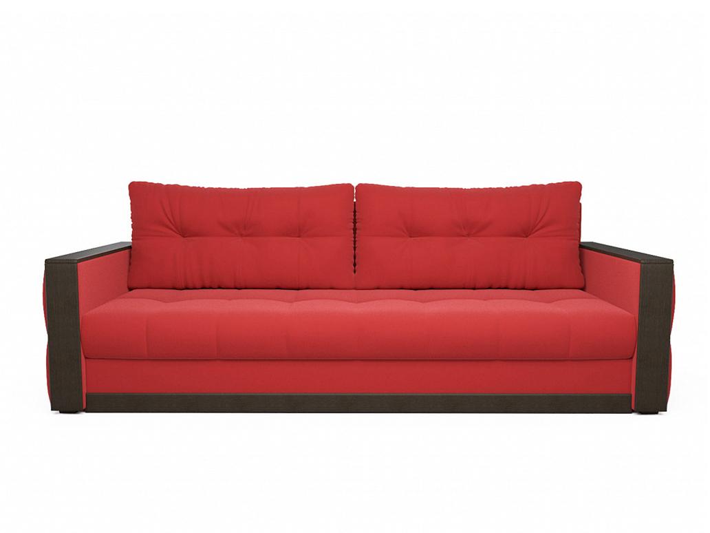 Фото - Диван Бостон MebelVia Красный, Микровелюр, Брус сосны диван мальтида mebelvia красный микровелюр брус сосны