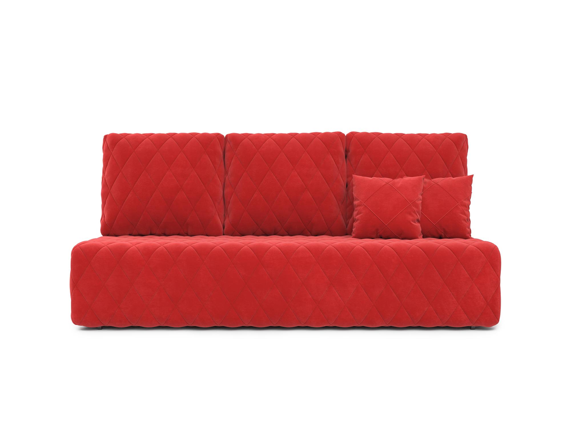 Фото - Диван Роял MebelVia Красный, Микровелюр, Брус сосны диван мальтида mebelvia красный микровелюр брус сосны