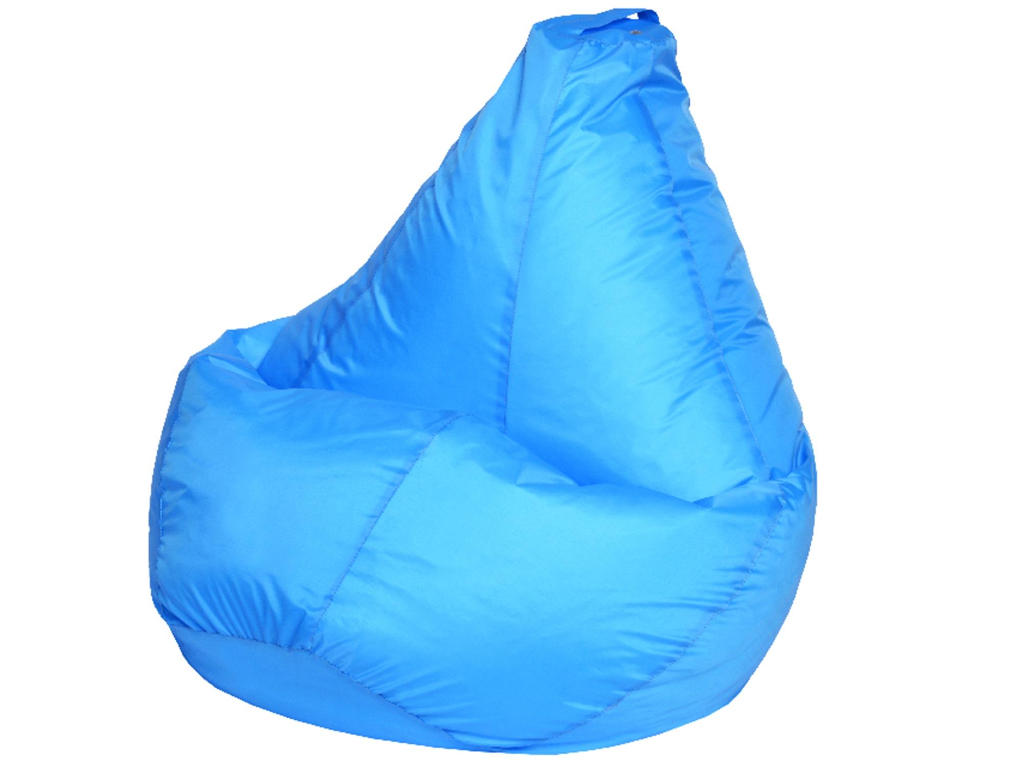 Кресло Мешок Голубое Оксфорд XL 125х85 MebelVia , Голубой, Оксфорд кресло мешок флаги xl 125х85 mebelvia