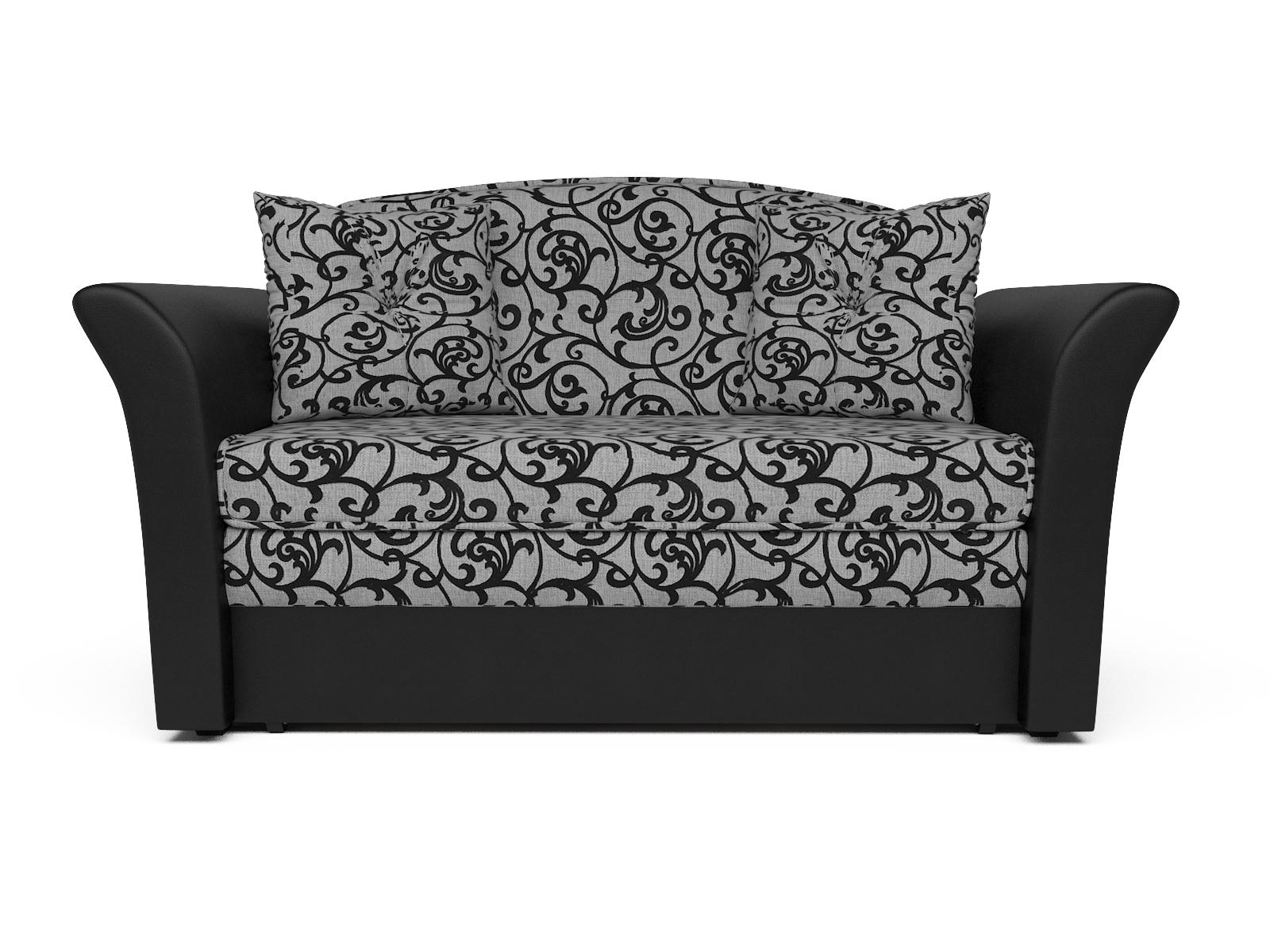 Фото - Диван Малютка 2 MebelVia , Черный, Рогожка, Брус сосны диван малютка кармен mebelvia черный серый жаккард экокожа брус со