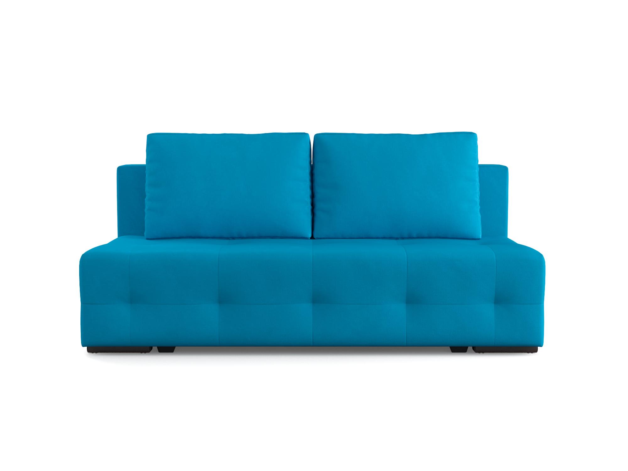 Фото - Диван Марсель 1 MebelVia Синий, Рогожка, Брус сосны диван шерлок ст евро mebelvia синий рогожка брус хвойных пород